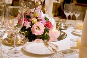 テーブル飾花